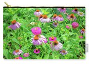 Flower Patch Carry-all Pouch