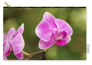 Flower - Pink Orchids Carry-all Pouch