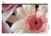 Flower Pink-white Carry-all Pouch