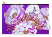 Flower Portrait Painting Carry-all Pouch