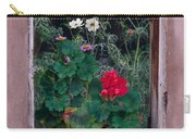 Flower Pot In Window Carry-all Pouch