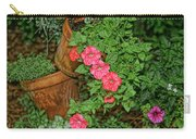 Flower Pot Tapestry Carry-all Pouch