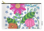 Flower Power 3 Carry-all Pouch
