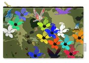 Flower Power 48 Carry-all Pouch