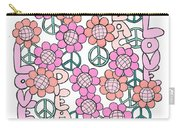 Flower Power 8 Carry-all Pouch