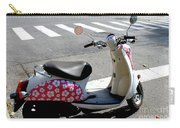 Flower Power For A Montreal Motor Scooter Carry-all Pouch
