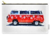 Flower Power Van Carry-all Pouch