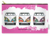 Flower Power Vw Carry-all Pouch