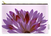 Flower Rise- Lavender Carry-all Pouch