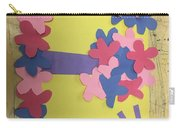 Flower Scene Carry-all Pouch