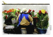 Flower Seller, Cuenca, Ecuador II Carry-all Pouch