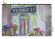 Flower Shop Carry-all Pouch