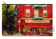 Flower Shop On The Corner Carry-all Pouch