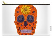 Flower Skull 1 Carry-all Pouch