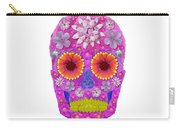 Flower Skull 2 Carry-all Pouch
