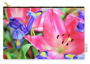 Flower Soft  Carry-all Pouch
