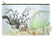 Flower Sol Carry-all Pouch