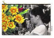 Flower Stall Carry-all Pouch