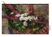 Flower - Still - Seat Reserved Carry-all Pouch by Mike Savad