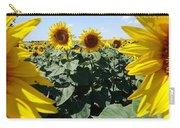 Flower Sunflower,yellow Flower, Carry-all Pouch