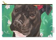 Flower The Pitbull Carry-all Pouch