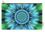 Flower Translucent 18 Carry-all Pouch