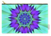 Flower Translucent 19 Carry-all Pouch