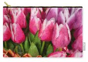 Flower - Tulip - A Young Girls Delight Carry-all Pouch