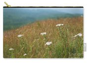 Flower View Of Mountains Carry-all Pouch