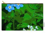 Flower Vision Carry-all Pouch
