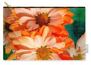 Flower-w Carry-all Pouch