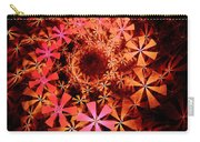 Flower Whirlpool Carry-all Pouch