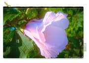 Flower With Painted Look Carry-all Pouch