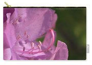 Flower With Pistil And Stamens Displayed Carry-all Pouch
