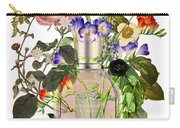 Flowerbomb Notes - By Diana Van Carry-all Pouch