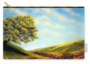 Flowered Fields Carry-all Pouch