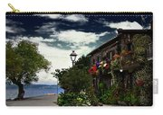 Flowered Home Carry-all Pouch