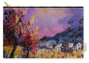 Flowered Landscape 569070 Carry-all Pouch
