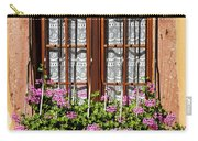 Flowered Window # II Carry-all Pouch