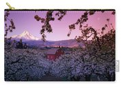 Flowering Apple Trees, Distant Barn Carry-all Pouch