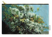 Flowering Branches And Flowers Carry-all Pouch