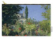 Flowering Garden At Sainte-adresse Carry-all Pouch