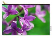 Flowering Lilac Carry-all Pouch