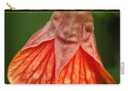 Flowering Maple Macro Carry-all Pouch