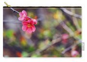 Flowering Quince In Spring Carry-all Pouch
