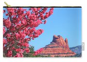 Flowering Tree - Sedona Red Rock Carry-all Pouch