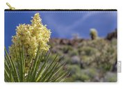 Flowering Yucca Carry-all Pouch