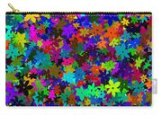 Flowers Abstract Carry-all Pouch