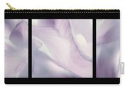 Flowers Abstract Triptych Carry-all Pouch