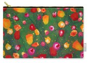 Flowers Afloat Carry-all Pouch